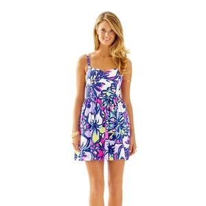 Lilly Pulitzer Christine bright floral sun dress